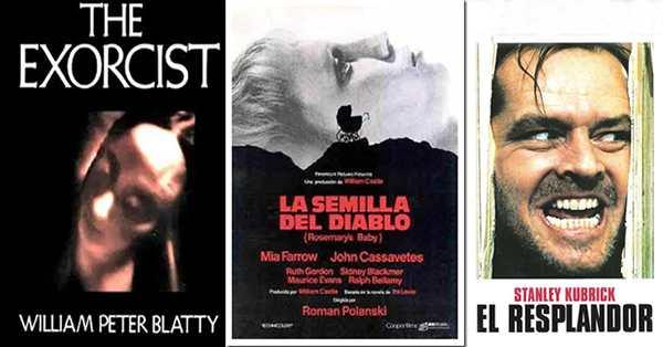 libros de películas de terror clásicos y recomendados