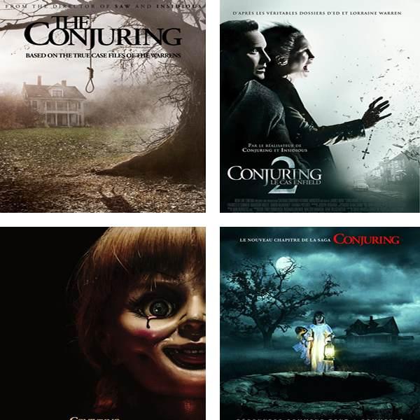 como ver el conjuro en orden, como ver en orden las películas de expediente warren
