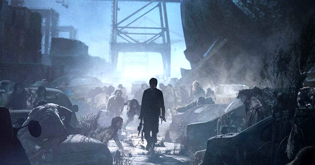 precuela animé de la película de zombis coreanos train to busan peninsula